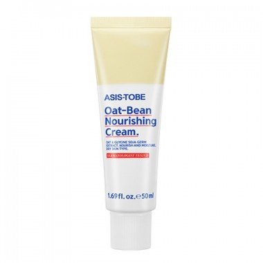 Питательный крем для лица с экстрактами сои и овса  ASIS-TOBE Oat-Bean Nourishing Cream